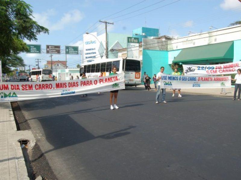 Dia Mundial Sem Carro é comemorado em Maceió