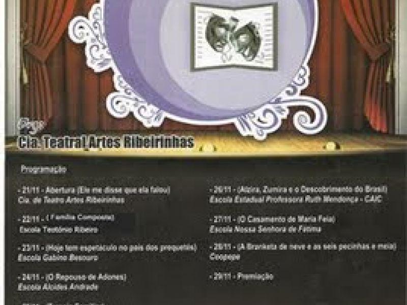 II Intercâmbio de Teatro Estudantil começou sábado em Penedo