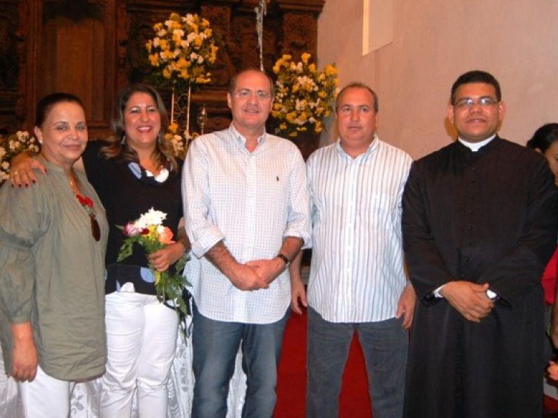 Renan prestigia festa da padroeira de Porto Calvo
