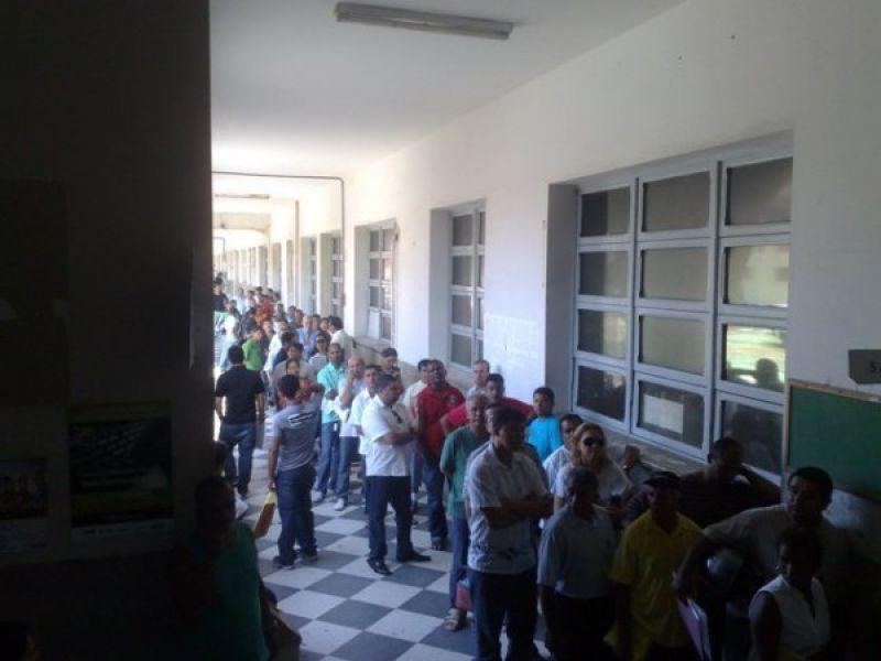 Caos no Detran após o fim da greve