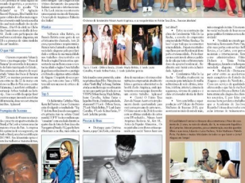 As top 5 do Bom Jesus, e Jovem destaque estampam coluna no JORNAL ALAGOAS EM TEMPO!!!